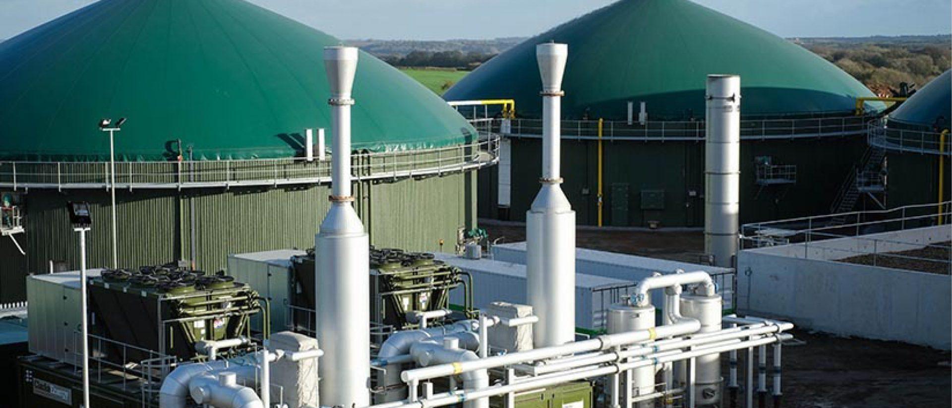 Biogas Anaerobic Digestion Site Cassington - Agrivert