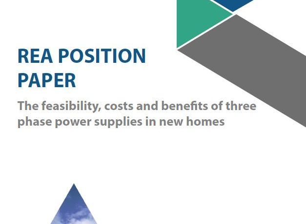 Three Phase Supply – REA Position Paper