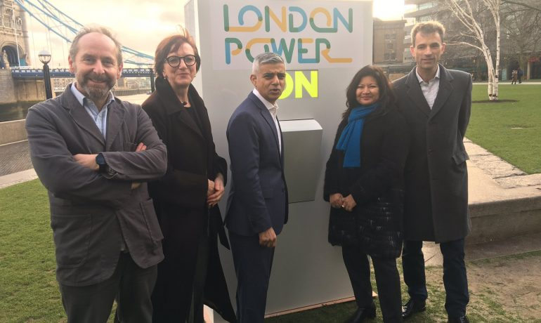 Mayor launches 'London Power'