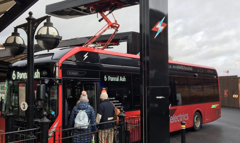 REA comment on Britain's first all-electric bus town