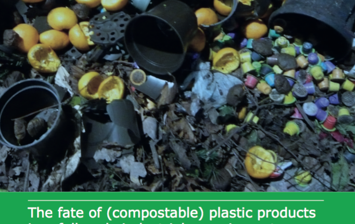 Dutch research on the fate of compostable plastics