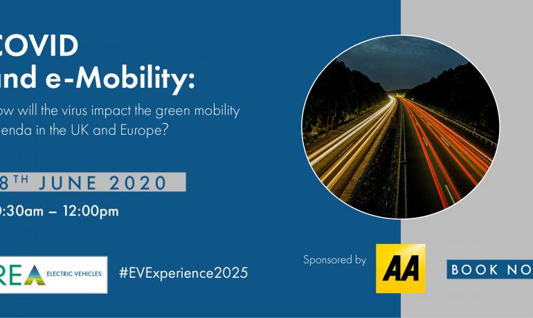 Recording & Slides – REA Webinar on COVID & eMobility – 18 June