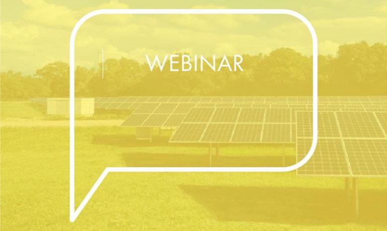 Solar & Energy Storage Forum Meeting